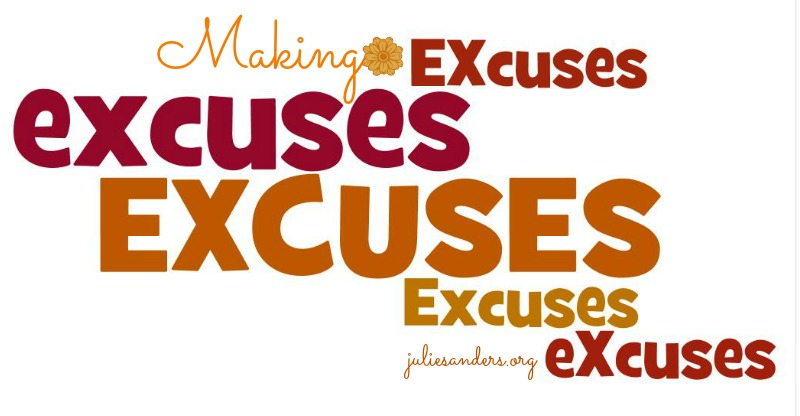 Making-excuses
