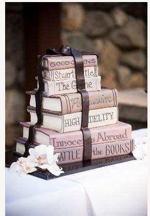 scotland book cake 2
