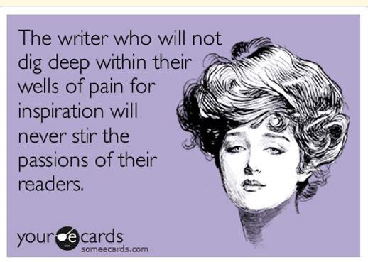 writer dig deep