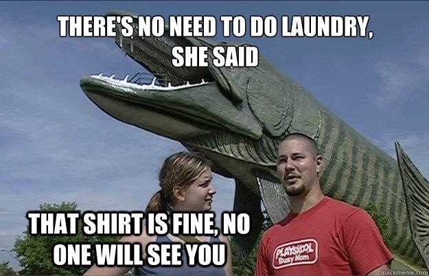 slob, humor, laundry meme