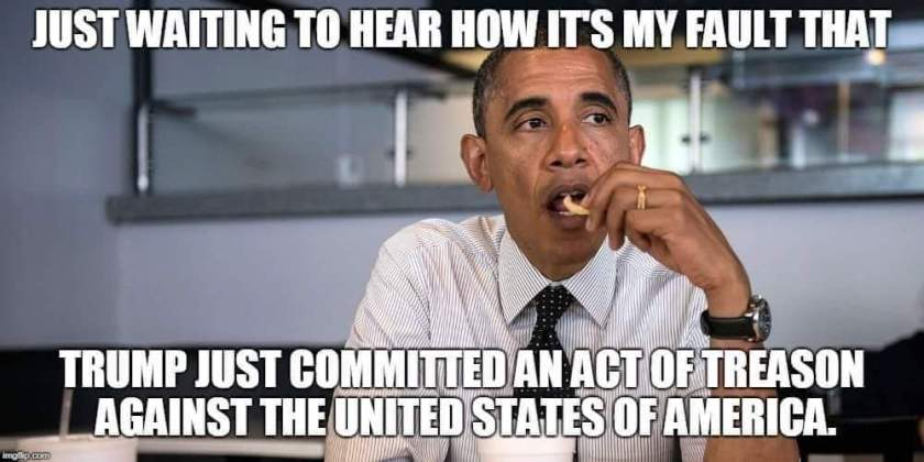 Obama My Fault