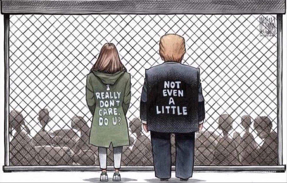 Trump I don't care