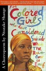 """Book cover """"For Colored Girls"""""""