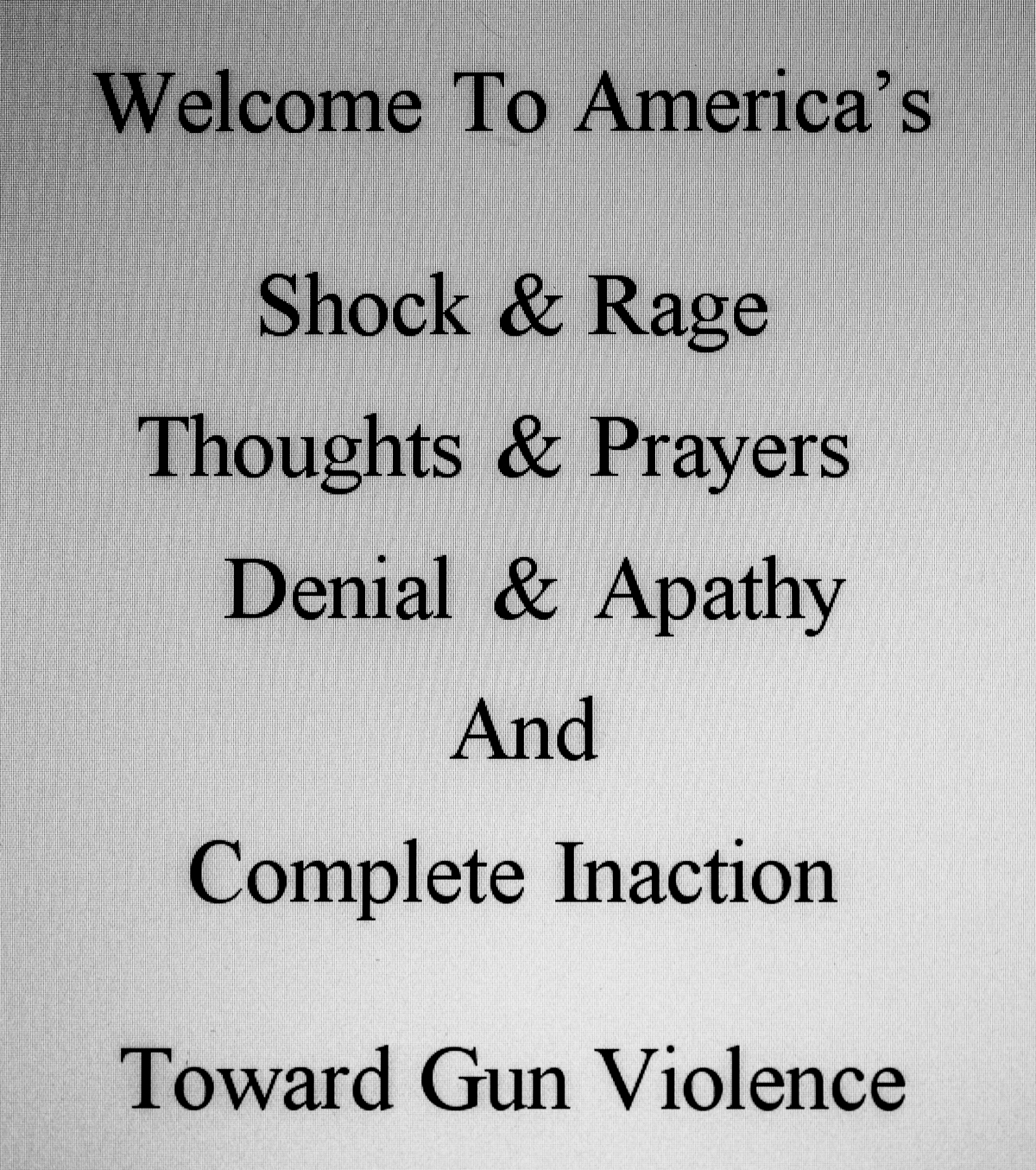 A Scrapbook Of Life In America:            Mass Shootings And Our 2ndAmendment
