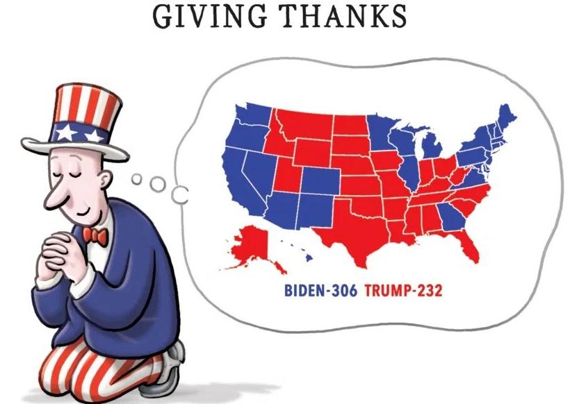 The Week's Best Cartoons: Thanksgiving2020